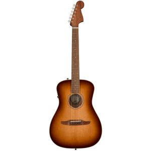 Fender Malibu Classic Aged Cognac Burst/Pau Ferro Electro-Acoustic Guitar
