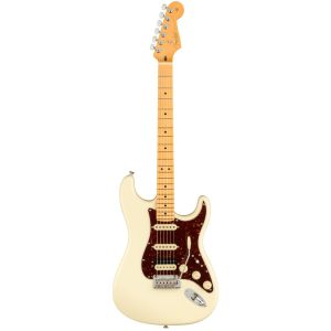Fender American Pro-II Stratocaster HSS Olympic White / Maple Electric Guitar