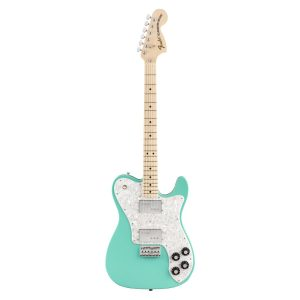 Fender MIJ 2020 Ltd Edition 70's Telecaster Deluxe Maple Neck/Seafoam Green Electric Guitar