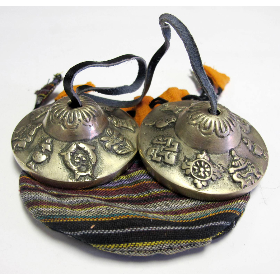 Percussion Plus PP347 Pair Tibetan Bells