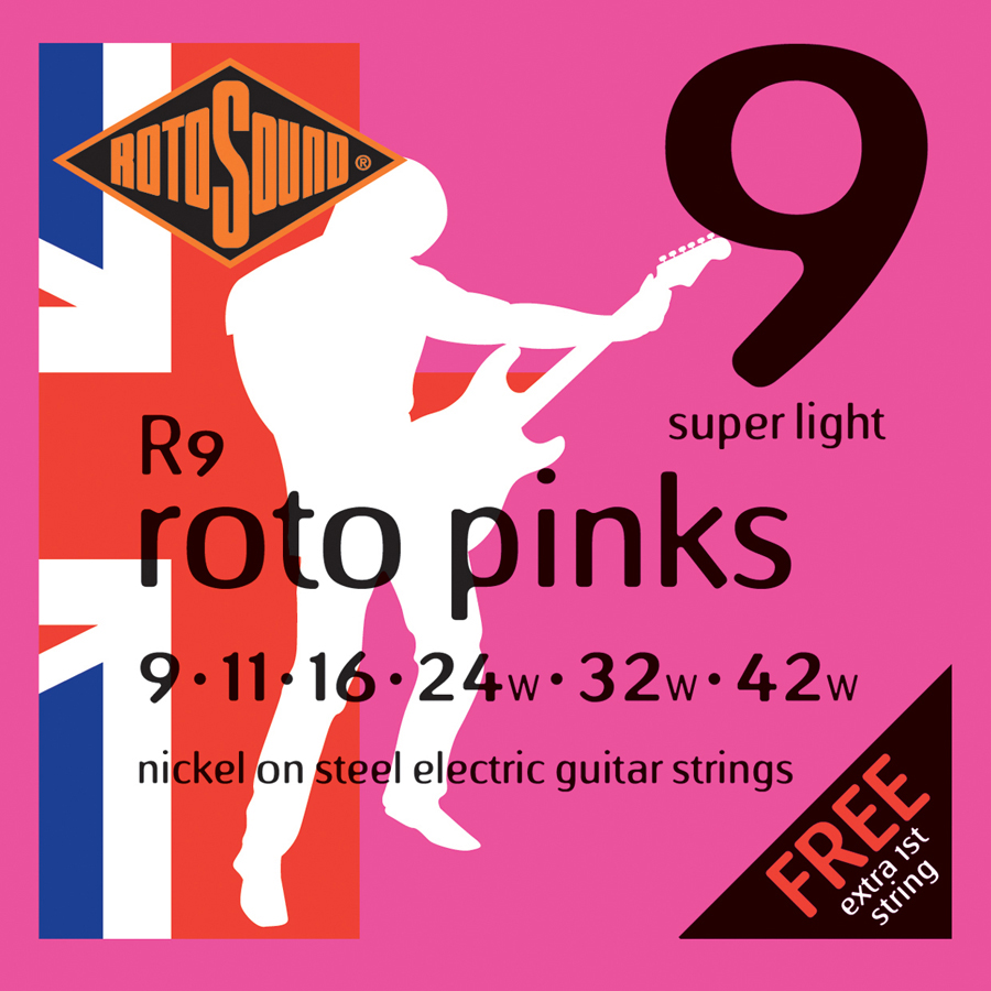 Rotosound R9 Electric Guitar Set Strings