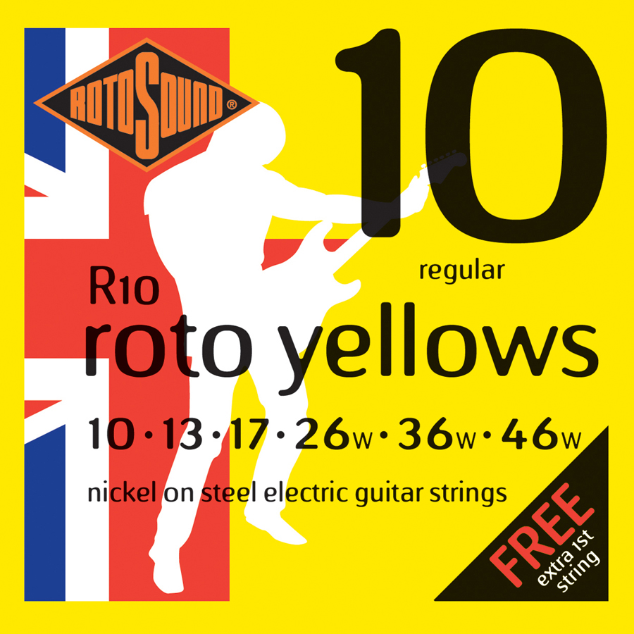 Rotosound R10 Electric Guitar Set Strings