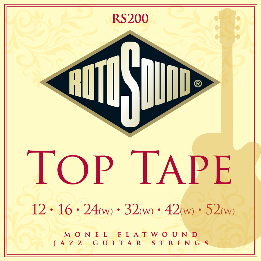 Rotosound RS200 Flatwound Set Strings