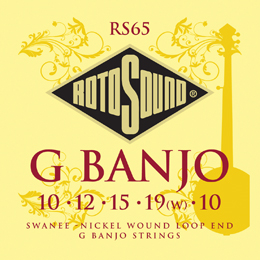 Rotosound RS65 G Banjo Set Strings