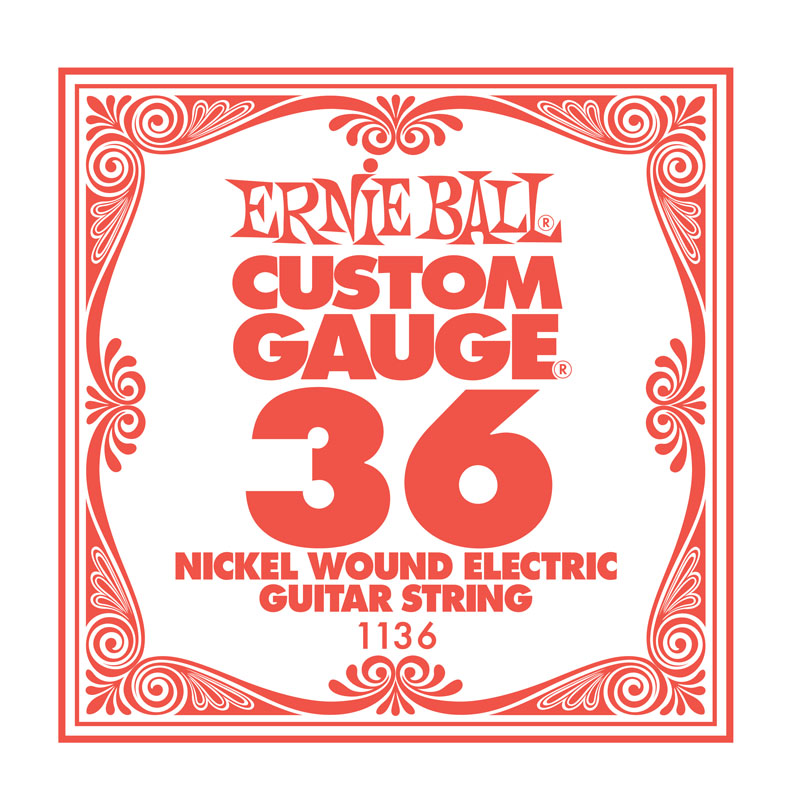 Ernie Ball Nickel Wound .036 Guitar String