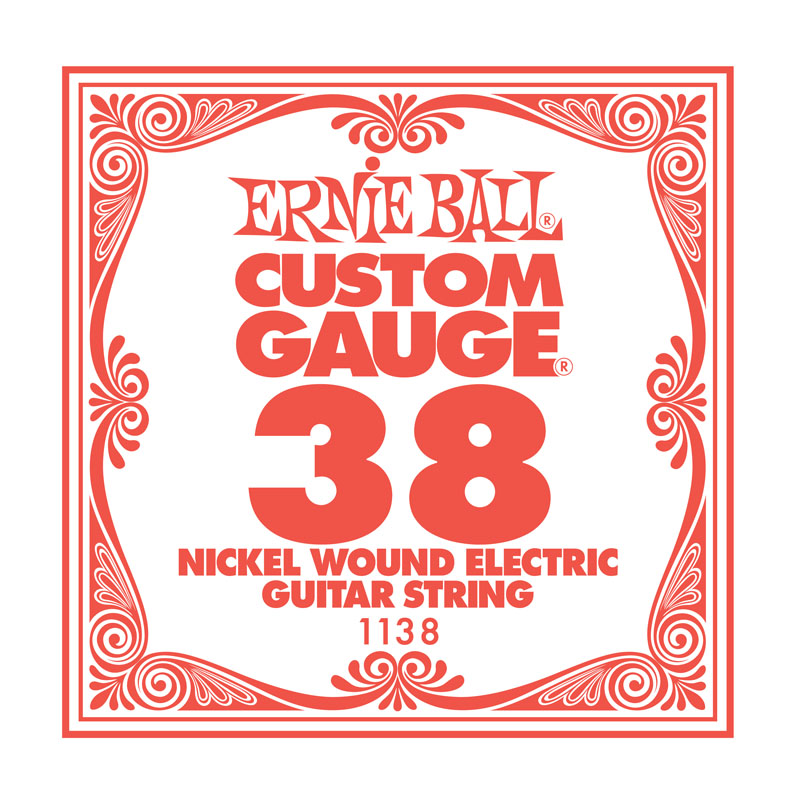 Ernie Ball Nickel Wound .038 Guitar String