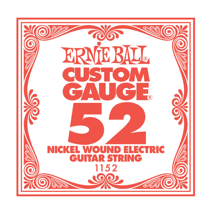 Ernie Ball Nickel Wound .052 Guitar String