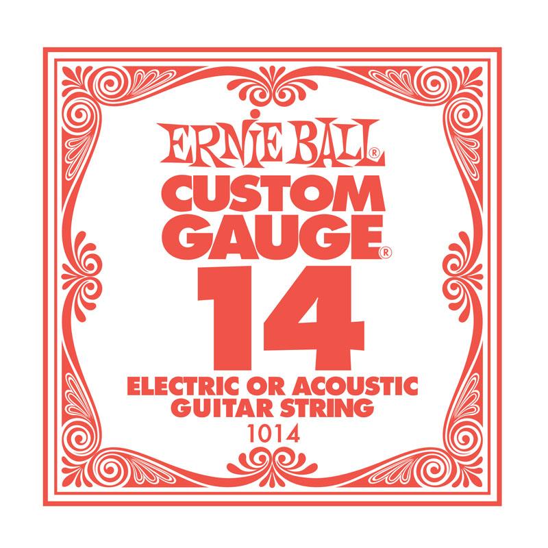 Ernie Ball Plain .014 Guitar String