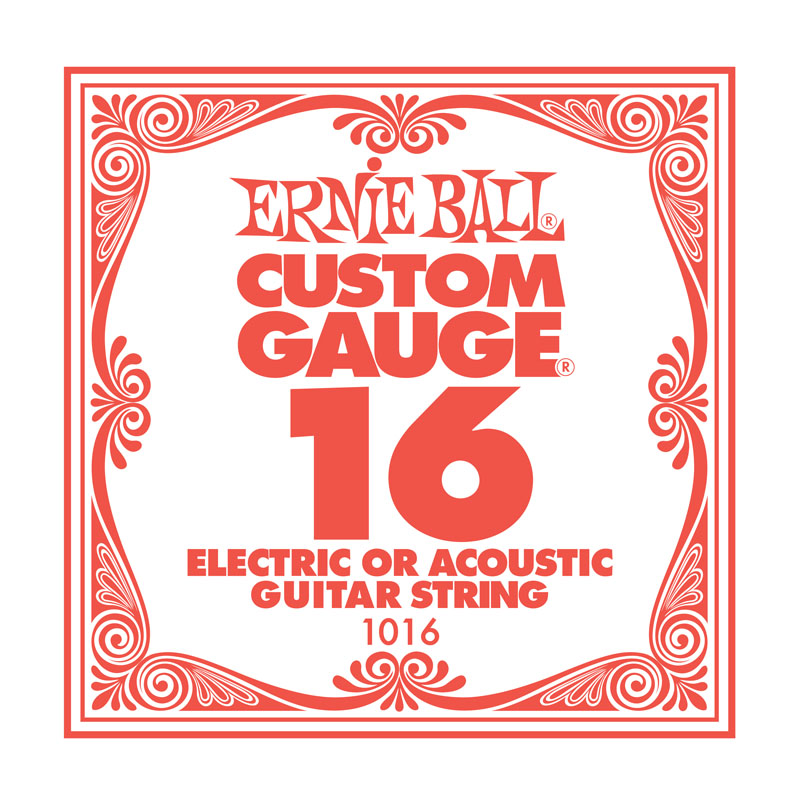 Ernie Ball Plain .016 Guitar String