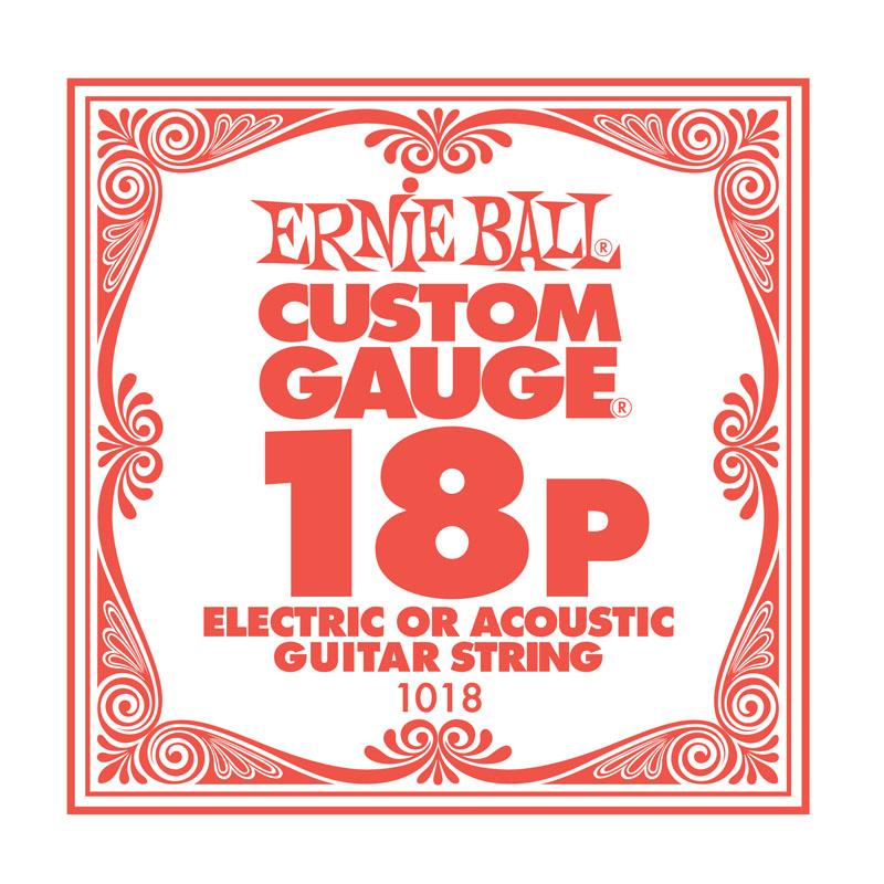 Ernie Ball Plain .018 Guitar String