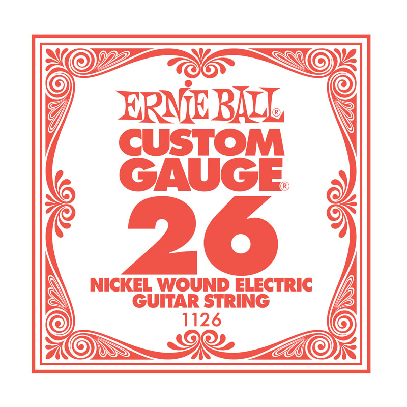 Ernie Ball Nickel Wound .026 Guitar String