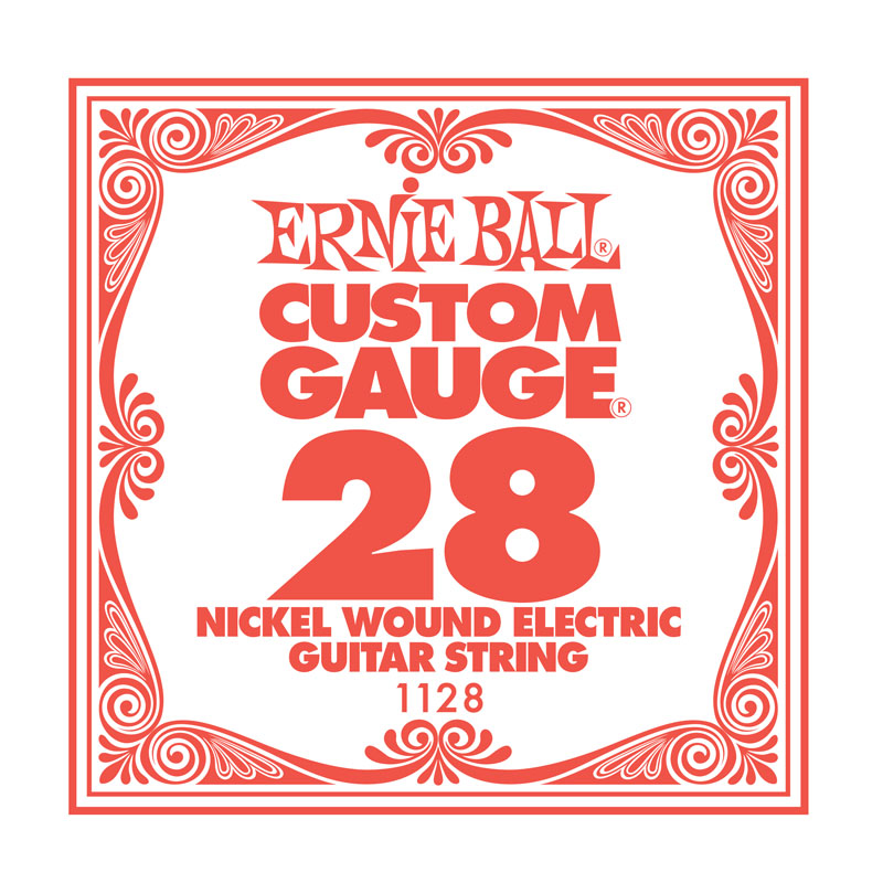 Ernie Ball Nickel Wound .028 Guitar String