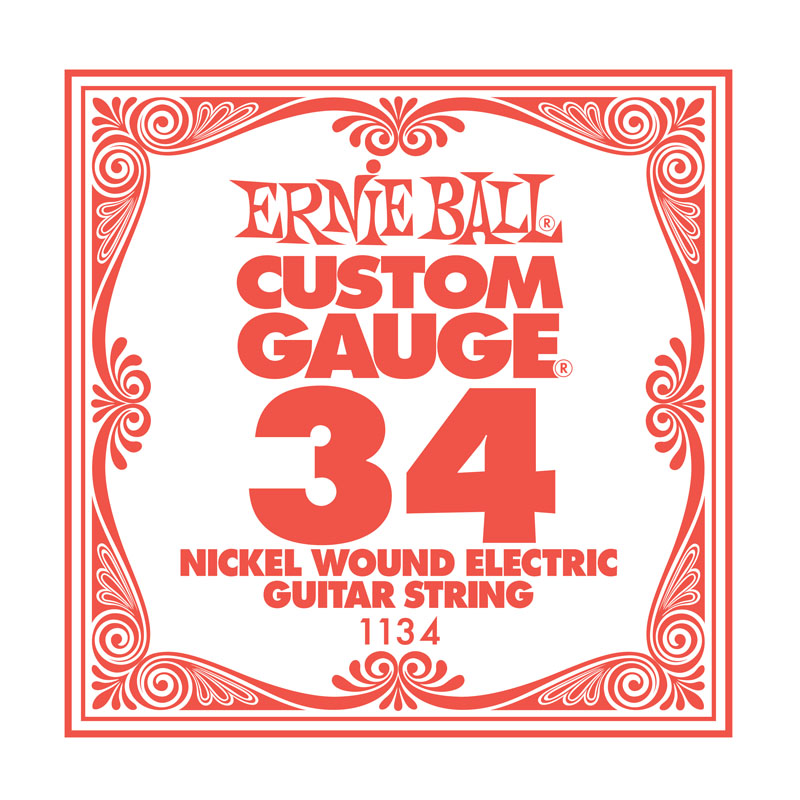 Ernie Ball Nickel Wound .034 Guitar String