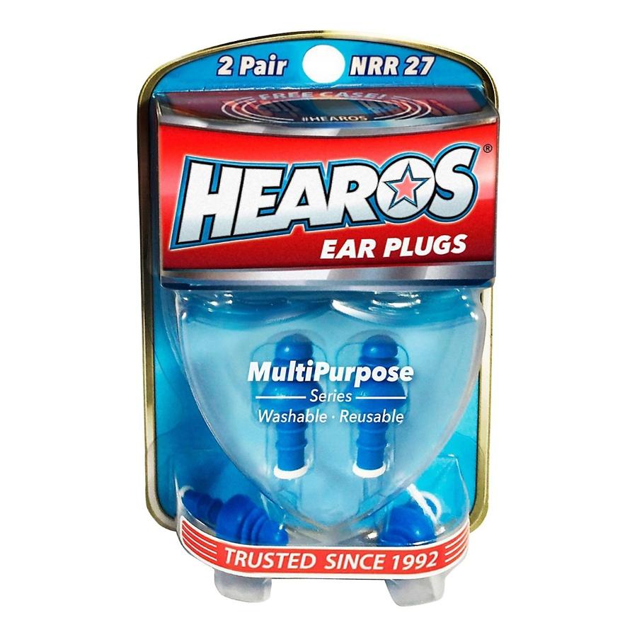 Hearos NRR27 4 x 27 Ear Plugs