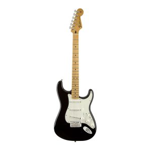 Fender Mexican Standard Stratocaster Black/Maple Electric Guitar