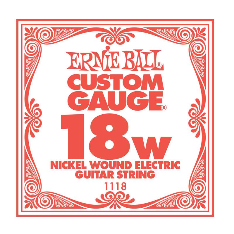 Ernie Ball Nickel Wound .018 Guitar String