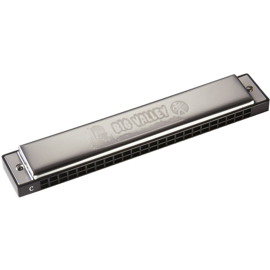 Hohner Big Valley Harp C Harmonica