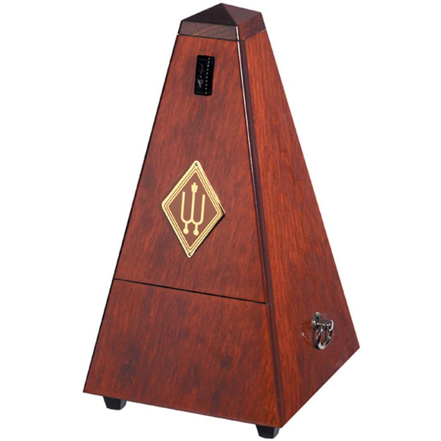Wittner Maelzel No Bell, Polished Mahogany Metronome
