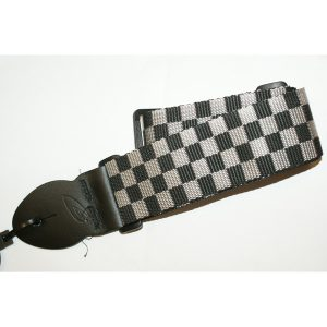 Leathergraft Checkered Guitar Strap