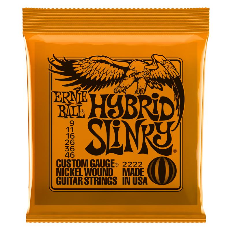 Ernie Ball Hybrid Slinky 9-46 Electric Set