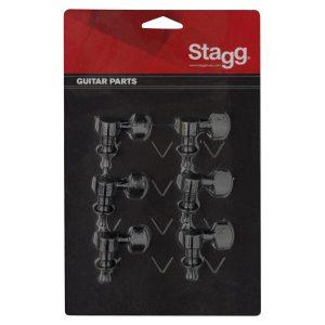 Stagg KG673BK 6 Inline Machine Heads