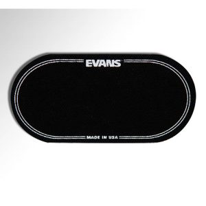 Evans EQ Double Pedal Black Nylon Patch