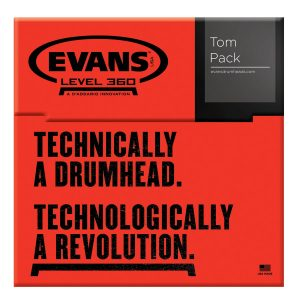 Evans G2 Clear, Standard Tom Pack
