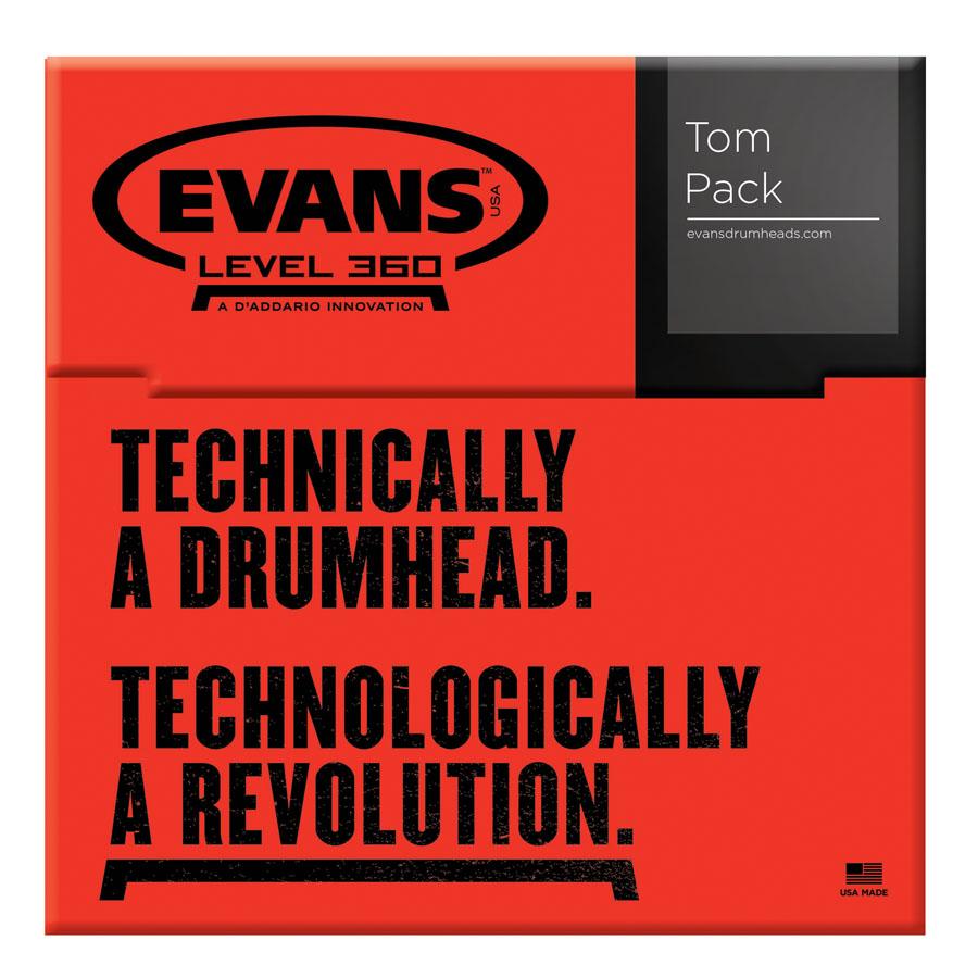 Evans G2 Clear, Standard Tom Pack