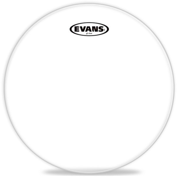 "Evans G2 12"", Clear Drum Head"