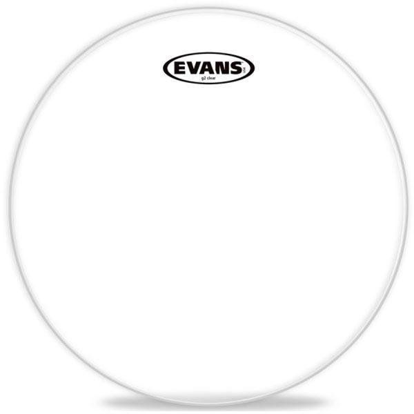 "Evans G2 14"", Clear Drum Head"
