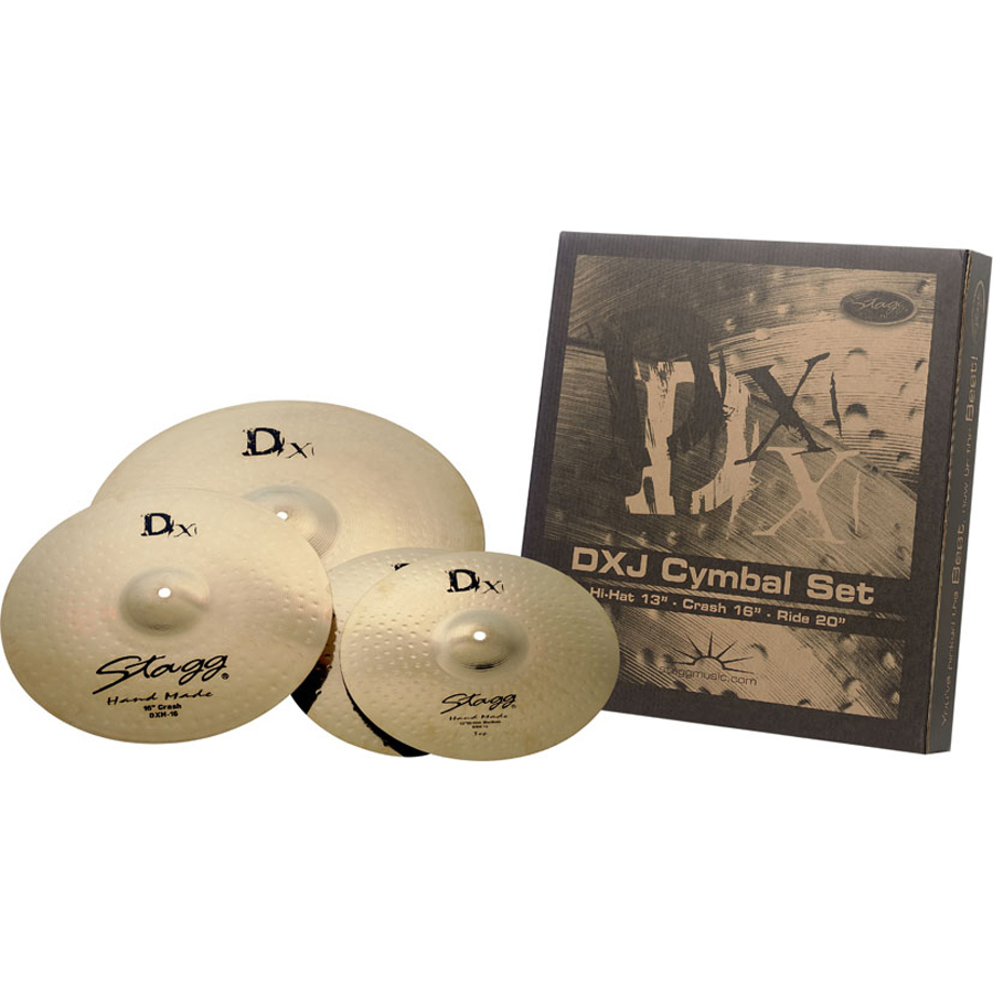 Stagg DXJ 3 Pieces Cymbal Set