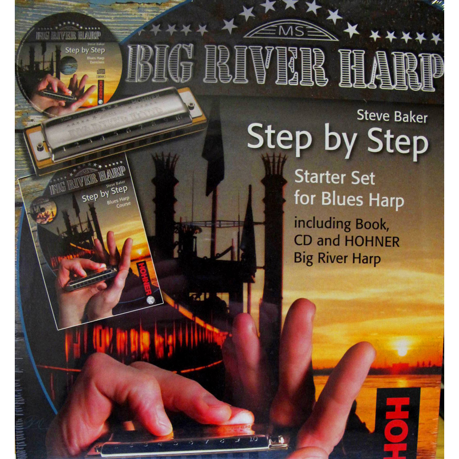 Hohner Big River Pack  Harmonica