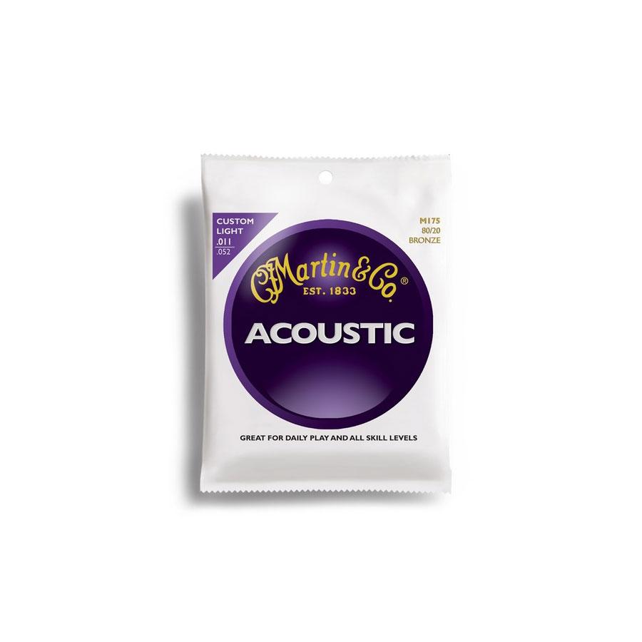 Martin 80/20 Bronze Custom Light Acoustic Set