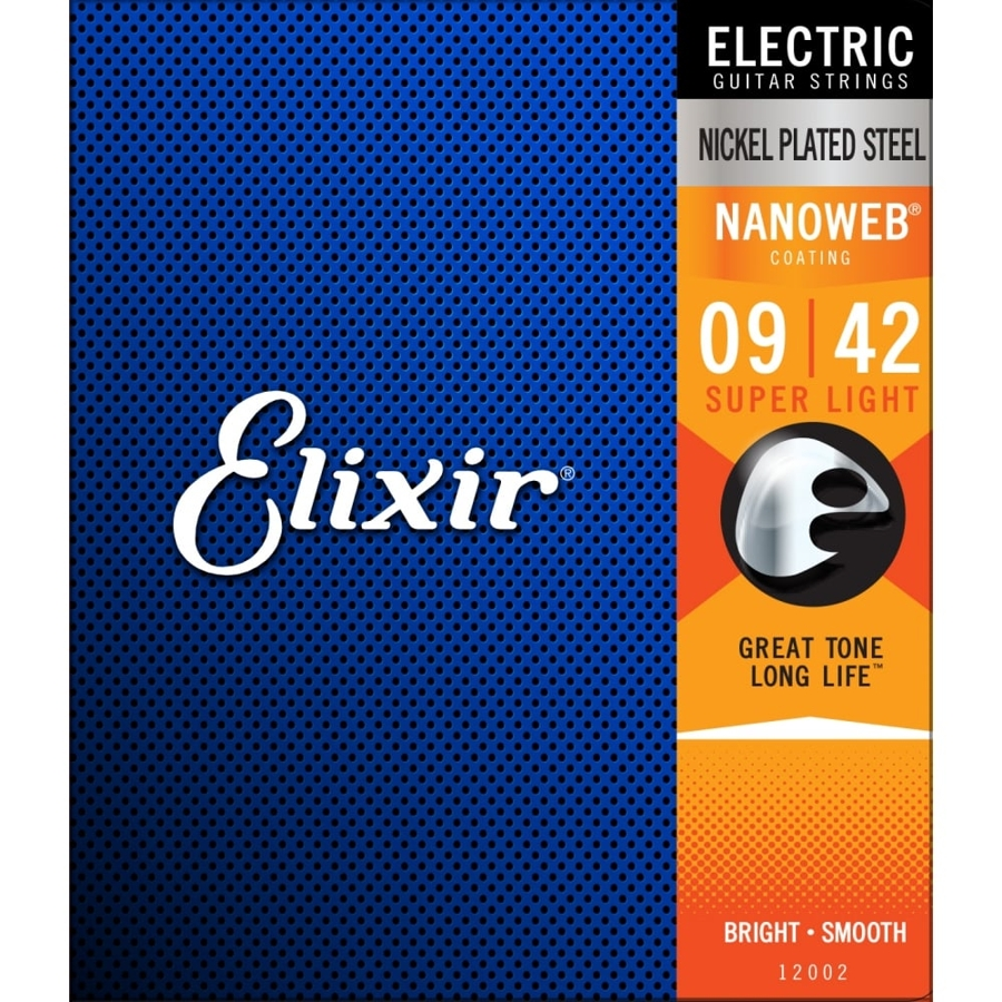 Elixir Nanoweb 9-42 Coated Electric Set