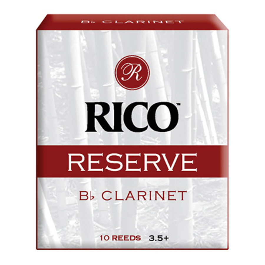 Rico Reserve Box of 5, Clarinet, 3.5 Reed