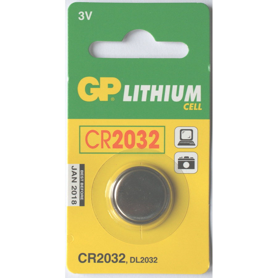 GP CR2032 Lithium Battery