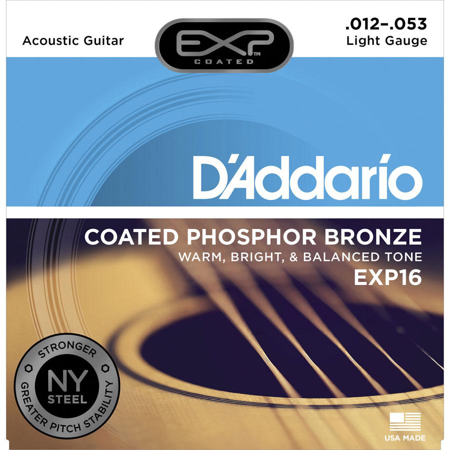 D'Addario EXP16 Light String Set