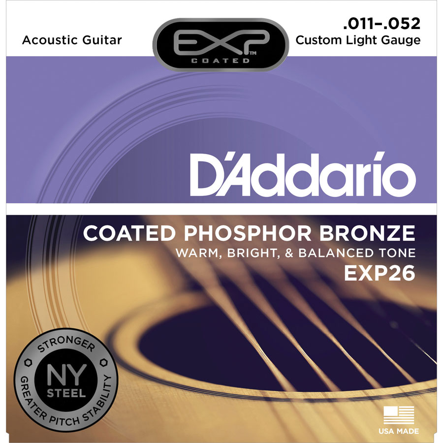 D'Addario EXP26 Custom Light Strings