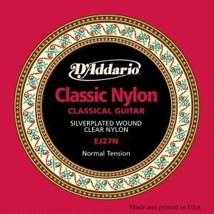 D'Addario EJ27 Nylon, Set Strings