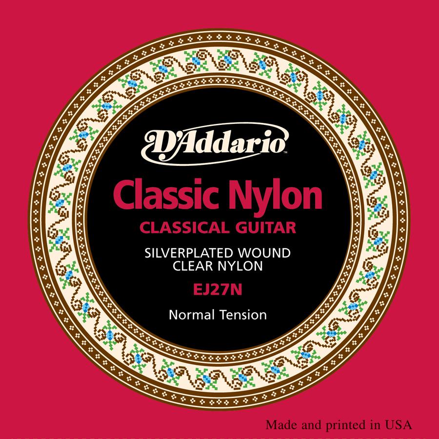 D'Addario EJ27 Nylon, Set Strings