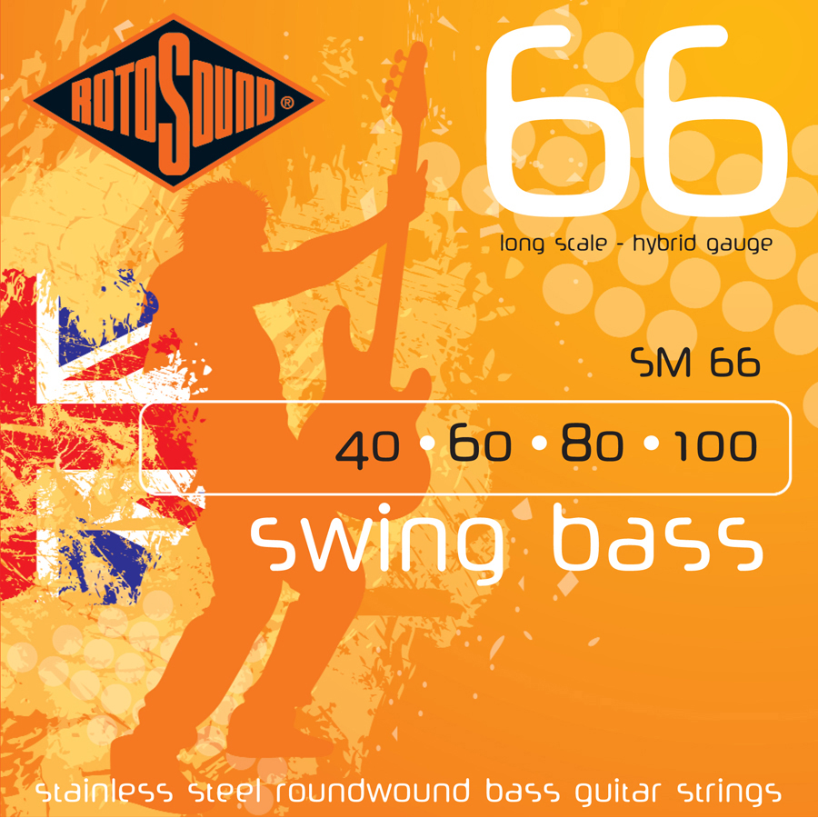 Rotosound SM66 40 - 100, Set Strings