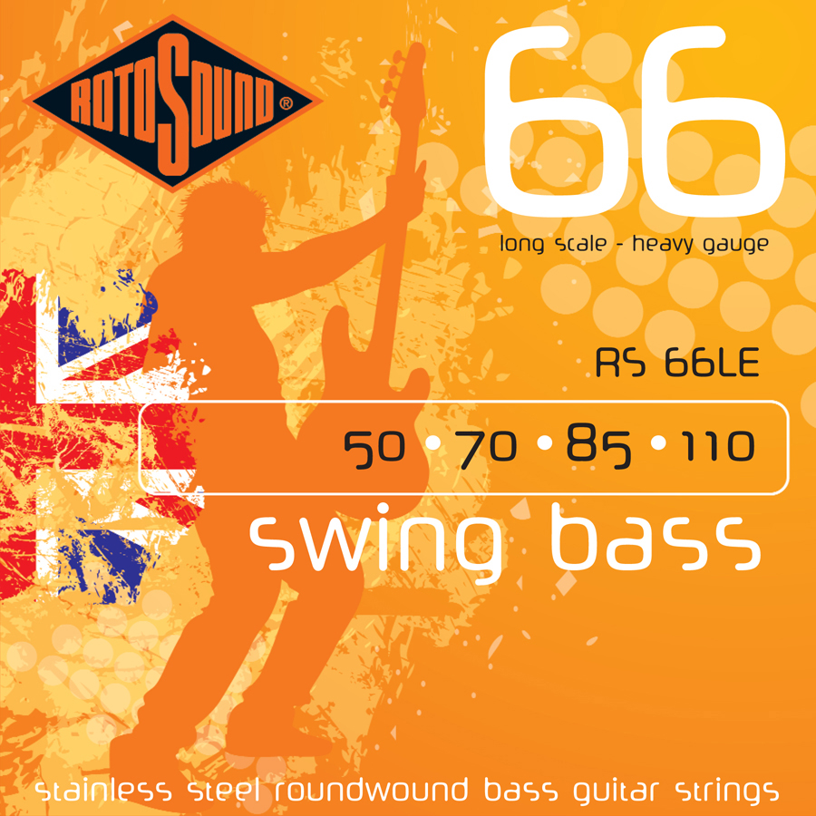 Rotosound RS66LE 50 - 110 Strings