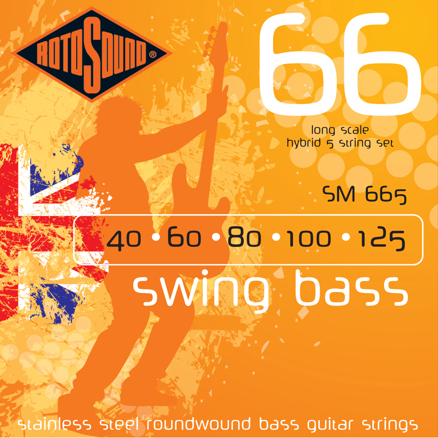 Rotosound SM665 40 - 125 Strings