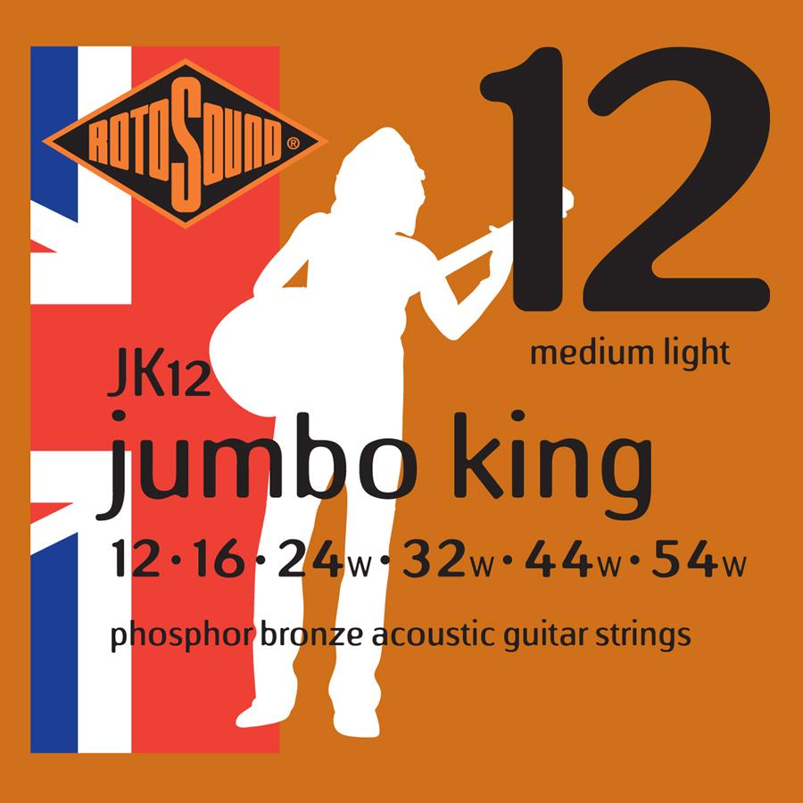 Rotosound JK12 Phosphor Bronze JK12