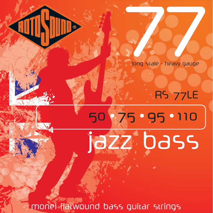 Rotosound RS77LE Jazz Bass Set Strings