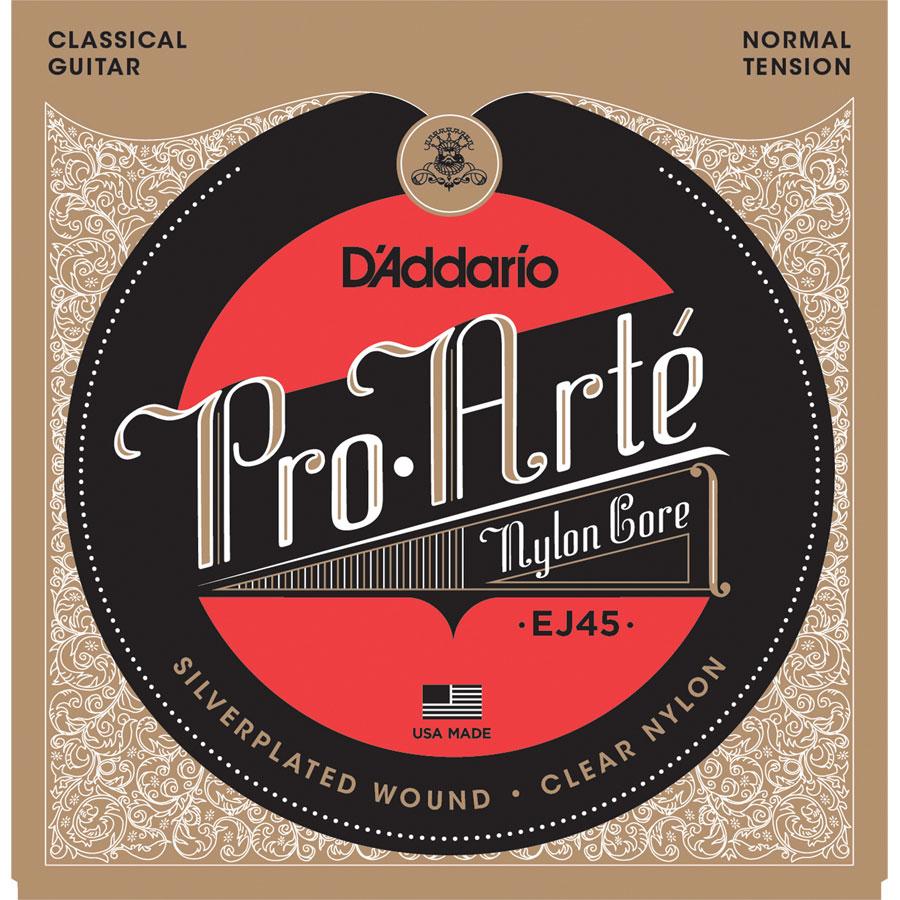 D'Addario Pro Arte Nylon EJ45, Normal Tension Classical Guitar Strings