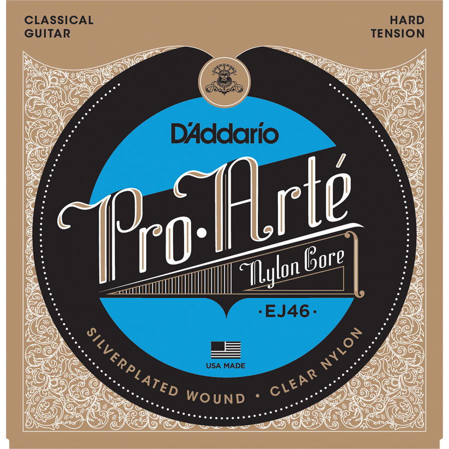 D'Addario Pro-Arte EJ46 Hard Tension Classical Strings
