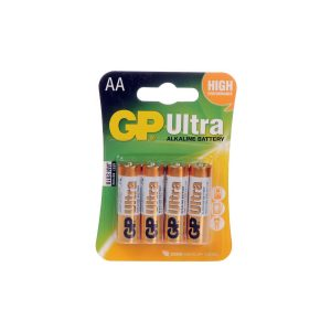 GP Ultra  4 Pack AA Batteries