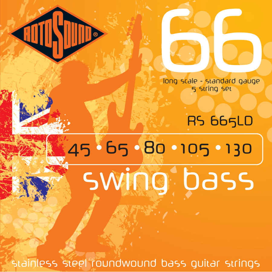 Rotosound RS665LD Bass Set, 45 - 130 Strings