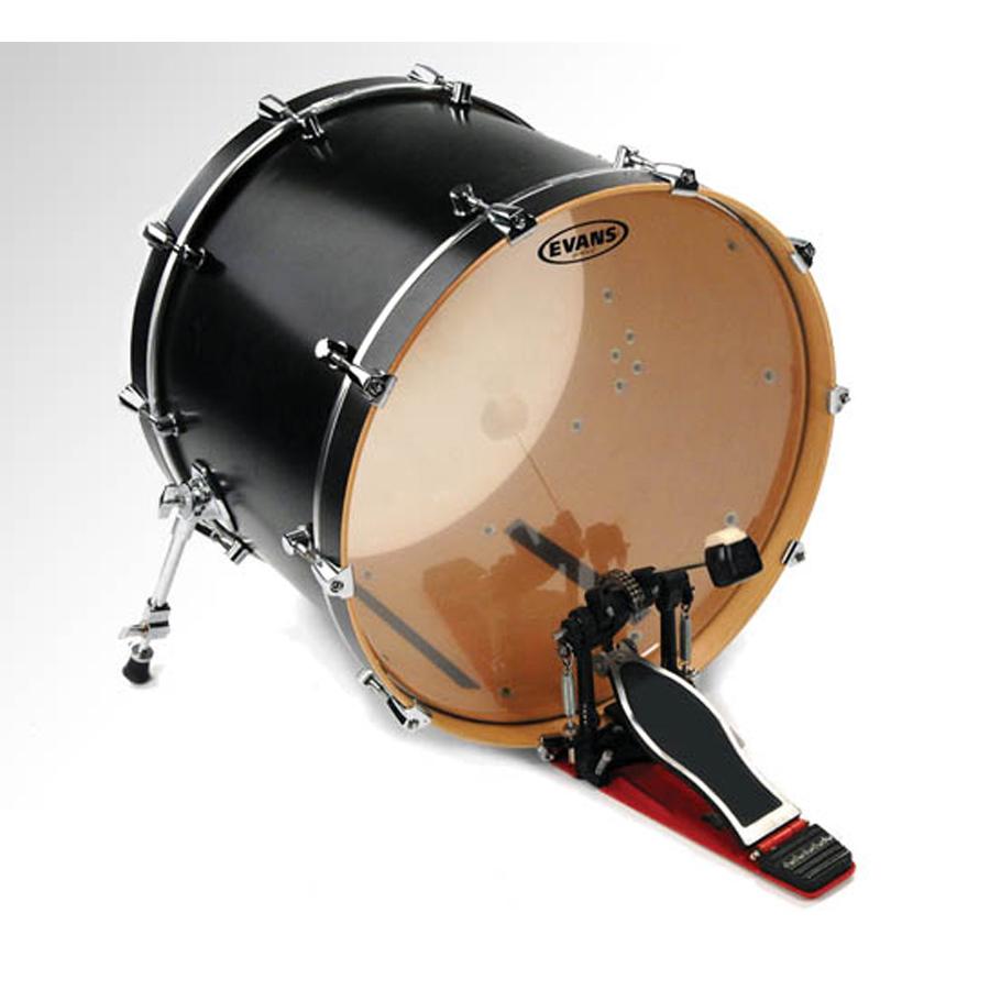 "Evans G2, Genera 20"", Clear Bass Drum Head"